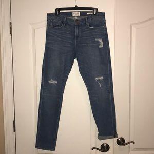 FRAME denim skinny boyfriend jeans 29 NEW